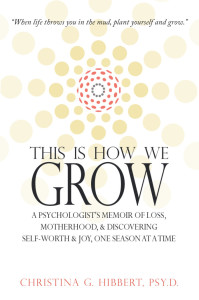 #1 Amazon Bestseller, This Is How We Grow, by Dr. Christina Hibbert, Available now on Amazon.com! www.DrChristinaHibbert.com