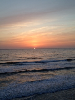 sunset in encinitas 4-6-12