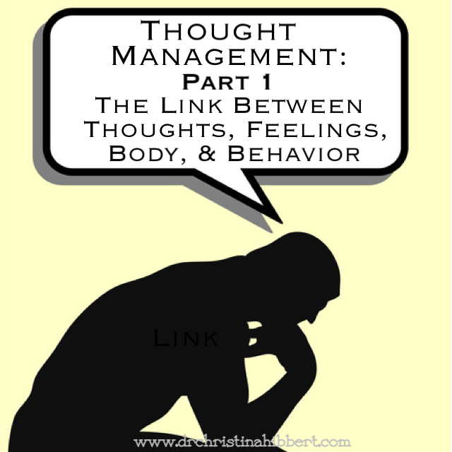 Thought Management: Part 1