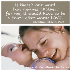 Are We Not All Mothers?; via www.Dr.ChristinaHibbert.com