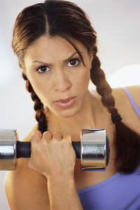 Becoming Fit-Lifting Weights