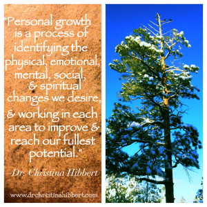 "Personal Growth & Self-Actualization: ""What will YOUR Choice Be?""  www.drchristinahibbert.com"