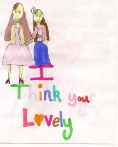 """Draw Pictures of How You Feel About Each Other""--50 Ways to Love Your Loved Ones, www.drchristinahibbert.com"