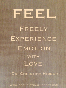 FEEL-How to Cope with Powerful Emotions (plus video); www.DrChristinaHibbert.com
