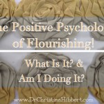 The Positive Psychology of Flourishing! What Is It? & Am I Doing It?