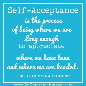 """The Pyramid of Self-Worth"" Step 2--Practice Self-Acceptance; www.DrChristinaHibbert.com (part 3 of this 5-part series) #selfesteem"