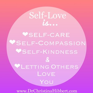 """The Pyramid of Self-Worth"": Step 3--Practice Self-Love; www.DrChristinaHibbert.com"