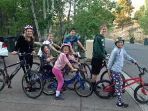One Saturday, after my kids had helped me get a little time alone, I took them for a family bike ride. I win. They win. We all win.