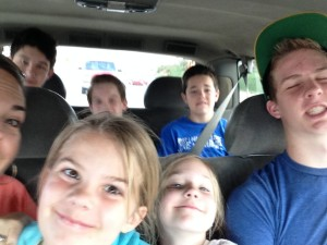 Yes, my sons were making dorky faces on purpose, ruining an otherwise cute pic, but I still love these crazy kids. They sure do help me grow.