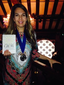 """This is How We Grow"" wins an IPPY Award in NYC and is one of Aspire Magazine's ""Top 10 Inspirational Books!"" www.DrChristinaHibbert.com #TIHWG #books #psychology #motherhood #mentalhealth"