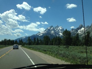 The Grand Tetons. Truly majestic.