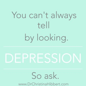Do you or someone you love suffer from depression or anxiety what is