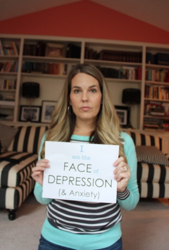 "Overcoming the Stigma of Depression & Anxiety: ""I am the FACE of DEPRESSION"""