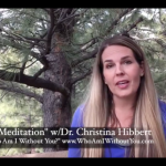 #Meditation for #MentalHealth, Personal, & Spiritual Growth: The Spirit Meditation, www.DrChristinaHibbert.com #video #YouTube #blog #spirituality #personalgrowth