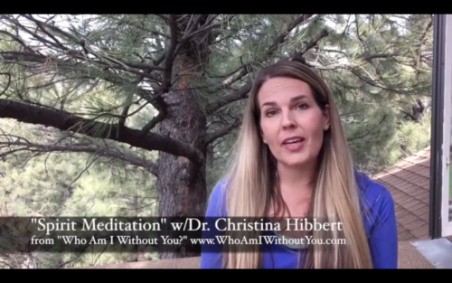 "Meditation for Mental Health, Personal, & Spiritual Growth: ""Spirit Meditation"" [video]"