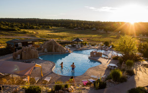 Isn't this place gorgeous?! Zion Ponderosa Ranch Resort.