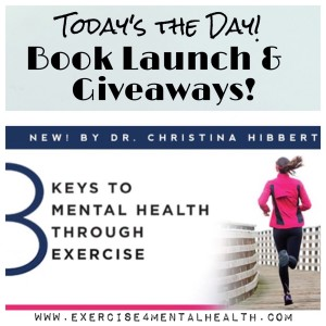 8 Keys to Mental Health Book Launch! www.Exercise4MentalHealth.com #books #giveaways