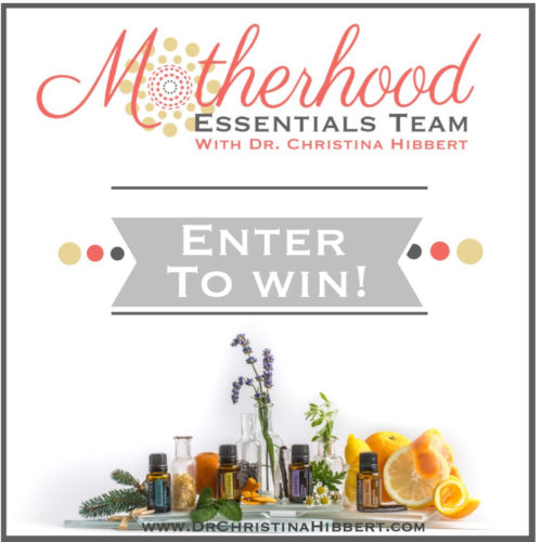 "Enter to win! From ""Motherhood Essentials"" and Dr. Hibbert! www.DrChristinaHibbert.com"