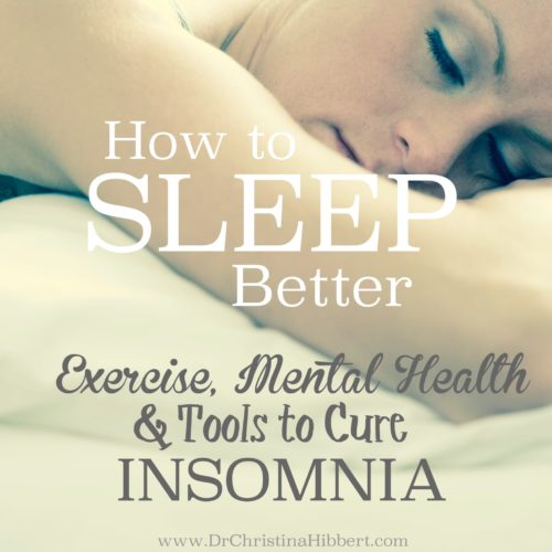How to Sleep Better- Exercise, Mental Health & Tools to Cure Insomnia (Bonus Chapter from New Book!)