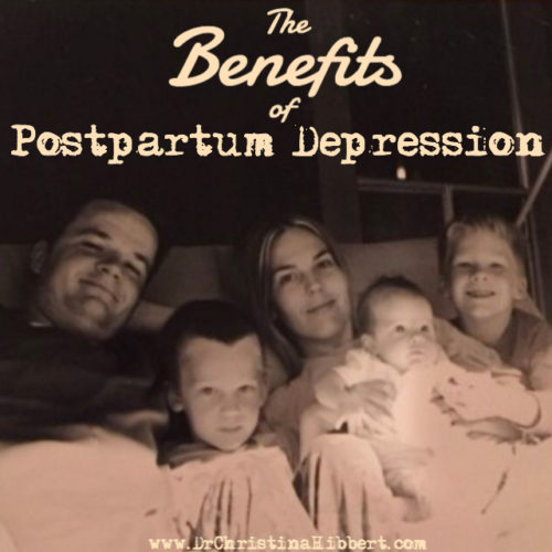 The Benefits of Postpartum Depression