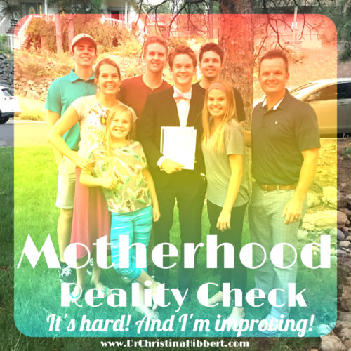 Motherhood Reality Check: It's Hard! and I'm Improving