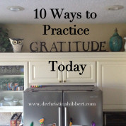 10 Ways To Practice Gratitude Today!